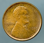 1909 Lincoln Cent MS 63 Brown