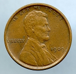 1909 V.D.B. Lincoln Cent XF 45
