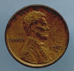 1910 S Lincoln Cent XF 40
