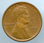1912 Lincoln Cent XF 40