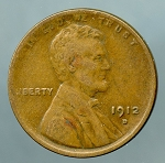 1912 D Lincoln Cent VF 20
