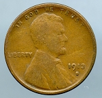 1913 S Lincoln Cent Good