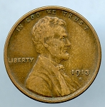 1913 S Lincoln Cent VF 20