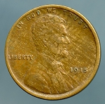 1915 Lincoln Cent XF 40
