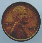 1915 Lincoln Cent VF 35