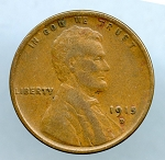 1915 D Lincoln Cent VF 35