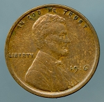 1916 Lincoln Cent XF 40