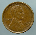 1916 D Lincoln Cent XF 45