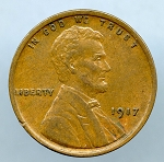 1917 Lincoln Cent XF 45