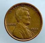 1918 D Lincoln Cent VF 35