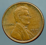 1919 S Lincoln Cent XF 40