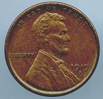 1919 S Lincoln Cent XF 45 plus