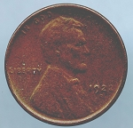1922 D Lincoln Cent AG