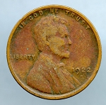 1922 D Lincoln Cent VG