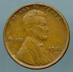 1925 S Lincoln Cent XF 40