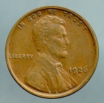 1926 D Lincoln Cent XF 40
