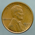 1929 D Lincoln Cent XF 40