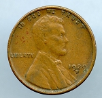 1929 S Lincoln Cent XF-40