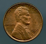 1930 S Lincoln Cent MS 60 Brown