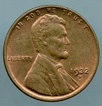 1932 D Lincoln Cent MS 60 Brown