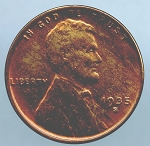 1935 S Lincoln Cent MS 60