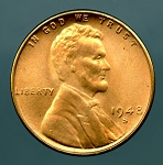 1948 S Lincoln Cent MS 65