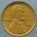 1909 Lincoln Cent MS-60