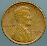 1909 V.D.B. Lincoln Cent XF-40