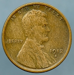 1912 S Lincoln Cent VF-20