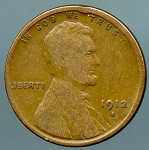 1912 S Lincoln Cent VG