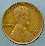 1915 D Lincoln Cent XF-40