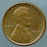 1918-S Lincoln Cent XF-45