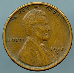1918 S Lincoln Cent XF-45