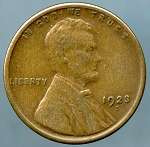 1923 S Lincoln Cent XF-40