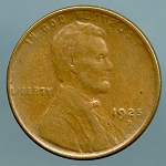 1925 D Lincoln Cent XF-40
