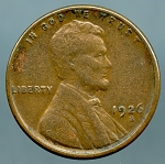 1926 S Lincoln Cent VF 35
