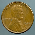 1926 S Lincoln Cent XF 40
