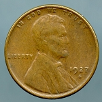 1927 S Lincoln Cent XF 45