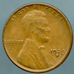1929 S Lincoln Cent Choice XF-45