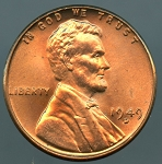 1949 D Lincoln Cent MS-65