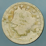 1884 Liberty Nickel CULL