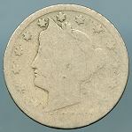 1894 Liberty Nickel About Good