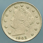 1903 Liberty Nickel Fine