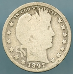 1897 Barber Quarter Good