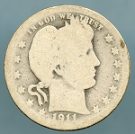 1911 Barber Quarter AG