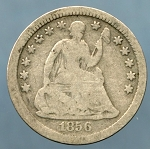 1856 Liberty Seated Half Dime Good +