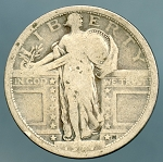 1917 T1 Standing Quarter About Good