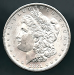 1881 S Morgan Dollar MS 63
