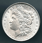 1889 Morgan dollar MS 60