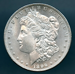 1896 Morgan Dollar MS 64